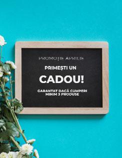 Banner site meniu campanie cadou aprilie Conte Elegant