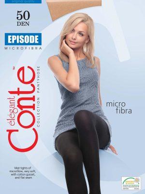 Ciorap Gros din Microfibra Episode 50 Den Conte Elegant