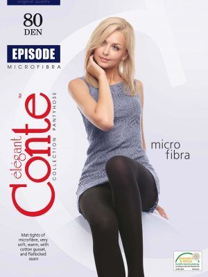 Ciorap Gros din Microfibra Episode 80 Den Conte Elegant