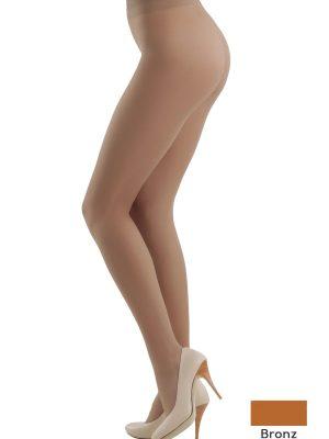 Ciorapi Eleganti cu Multifibra Prestige Bronz