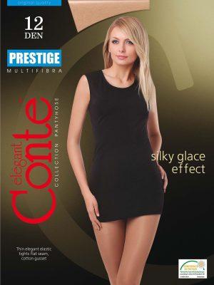 Ciorapi Eleganti cu Multifibra Prestige 12 Den Conte Elegant