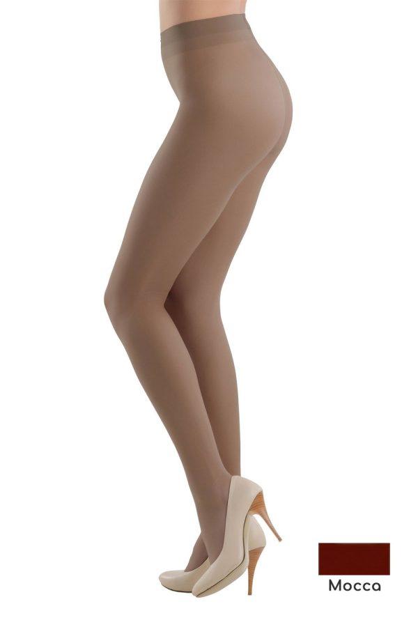 Ciorapi Eleganti cu Multifibra Prestige Mocca