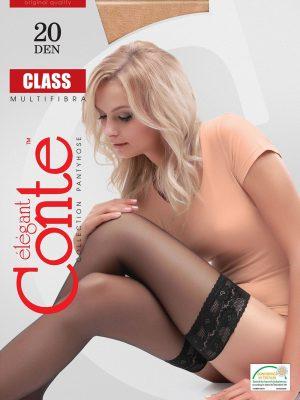 Ciorap Bandă Adezivă cu Multifibră Class 20 Conte Elegant