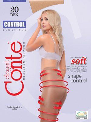 Ciorap Modelator Control 20 Den Conte Elegant