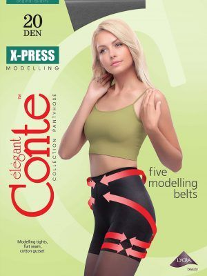 Ciorap Modelator cu Efect de Push-Up X-press 20 Den Conte Elegant