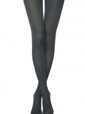 Ciorapi grosi din microfibra si 3D Lycra Trendy 150 Den Conte Elegant Verde