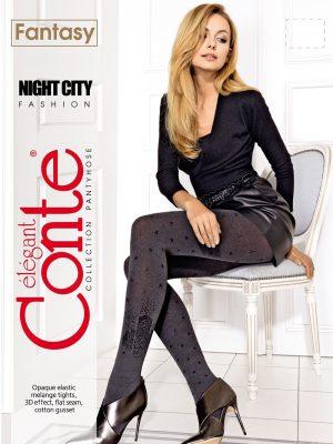 Ciorap cu model, Oraș sub stele, Fantasy Night City