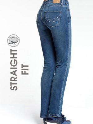 Blugi Classici Straight Fit, 2091-49123, Conte Elegant Bleu