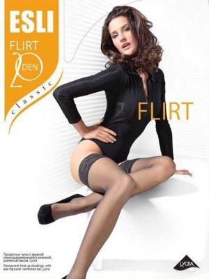 Ciorap bandă adezivă, Esli Flirt 20