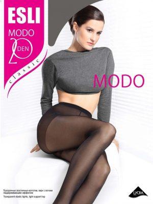 Ciorap clasic și transparent, Esli Modo 20