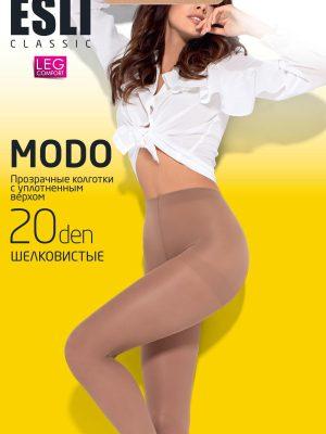 Ciorap clasic și transparent, Esli Modo 20 ambalaj nou