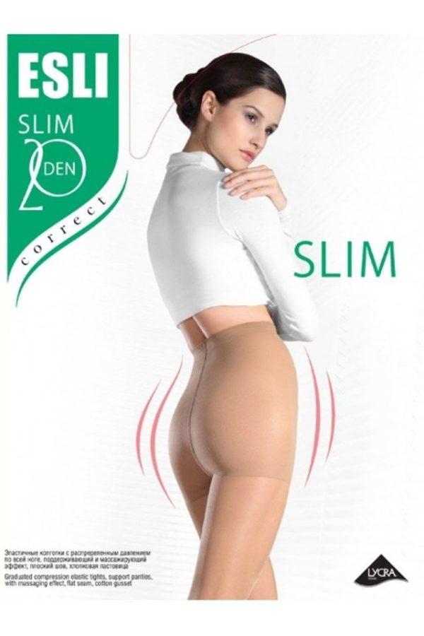 Ciorap compresiv și modelator, Esli Slim 20