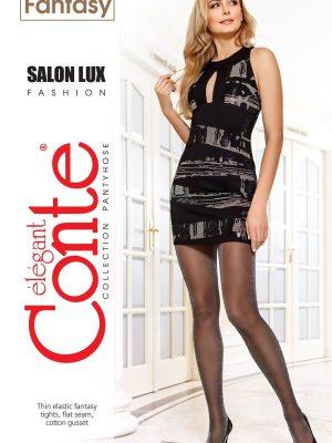 Ciorap subțire cu Lurex, Fantasy Salon Lux, Conte Elegant