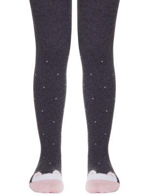 Ciorapi Bumbac Copii cu Model Pisică, Tip-Top 504
