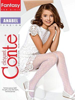 Ciorapi copii grosi cu model inimioare, Anabel 20 Den, Conte Elegant
