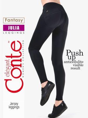 Colanți Subțiri cu Efect de Push Up, Julia, Conte Elegant