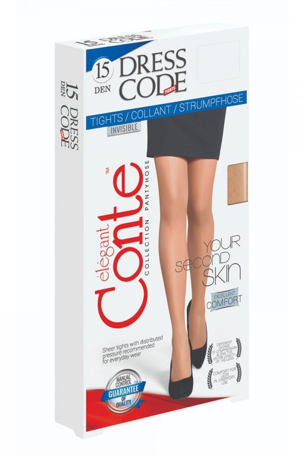 Dresuri Fine și Elastice Dress Code 15 Den, Conte Elegant