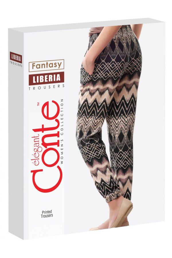 Pantaloni subțiri din Vâscoză, Liberia, Conte Elegant