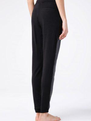 Pantaloni subțiri din Vâscoză, Miria Conte Elegant Spate