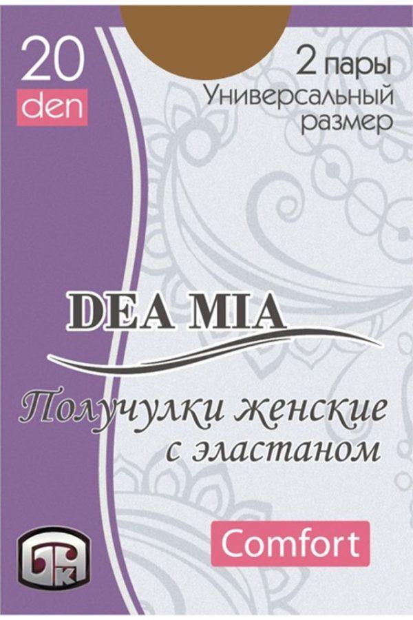 Șosete 3-4 damă din poliamidă Deea Mia, Bchk 20 Den Bronz