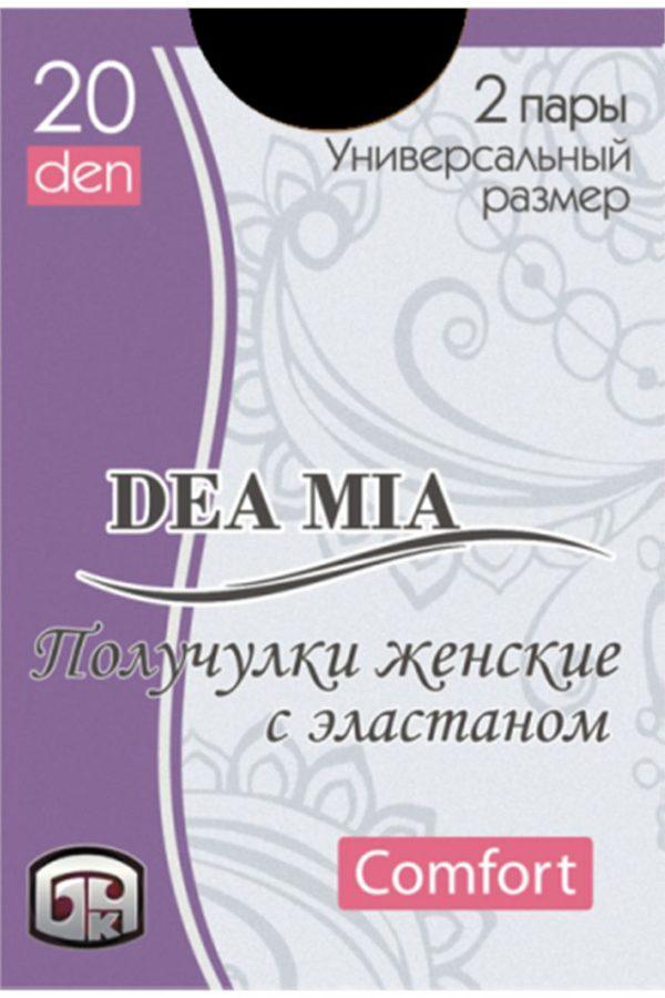 Șosete 3-4 damă din poliamidă Deea Mia, Bchk 20 Den Nero