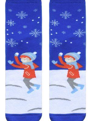 Șosete haioase și flaușate de Crăciun cu model, Conte Lapland 016