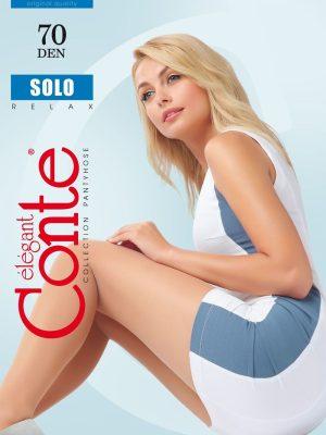 Ciorap clasic și semitransparent Conte Elegant Solo 70 Den