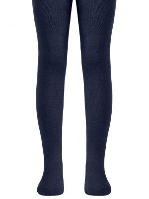 Ciorapi copii din bumbac clasici fără model, Conte Kids Tip-Top 000 Jeans inchis