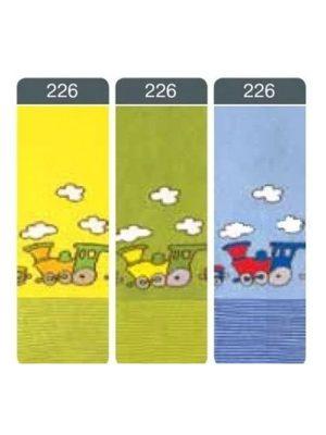 Ciorapi flaușați din bumbac pentru copii cu model, Conte Kids Sof-Tiki 226