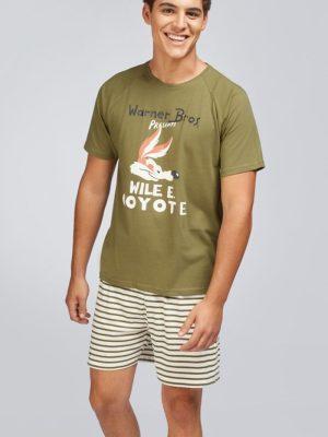 Set pijama scurtă pentru bărbați Coyote Gisela 2-1675