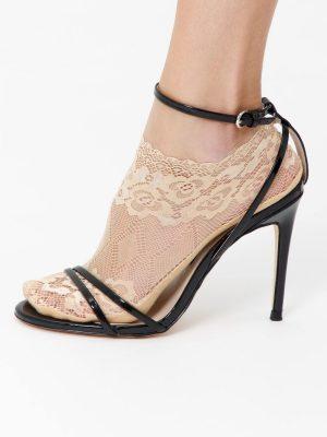 Șosete scurte damă dantelate din poliamidă, Esli IS006