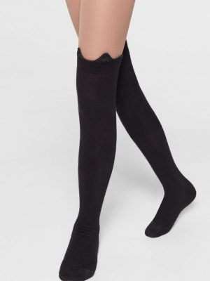 Sosete peste genunchi, Tip-Top 051 Model Negru